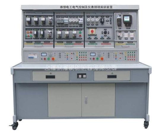 QY-W01F电气控制及仪表照明电路实训考核装置